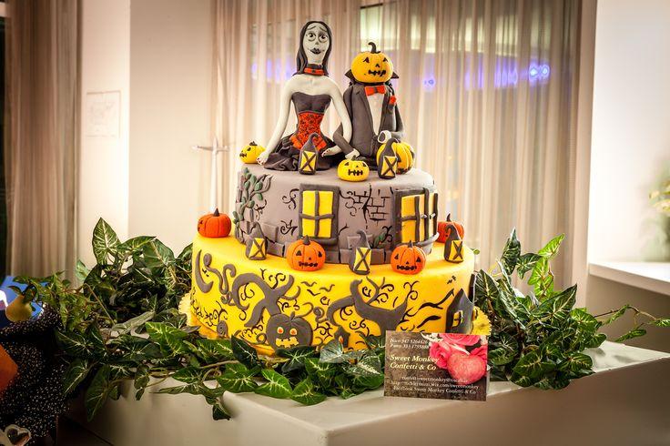 Ecco una torta mostruosamente bella per Halloween al Blu Suite! Una vera opera di #cakedesign
