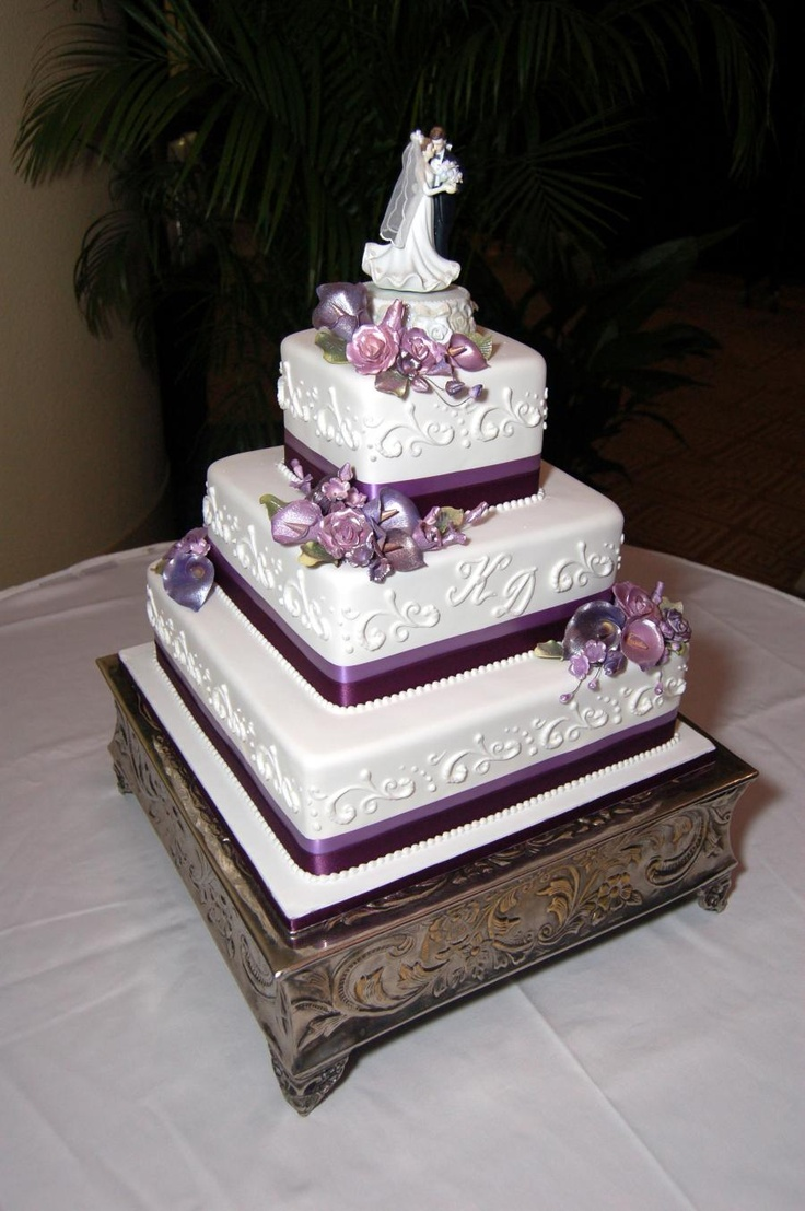 three tier square wedding cake designs this 3 tier square wedding cake is simple and 20934