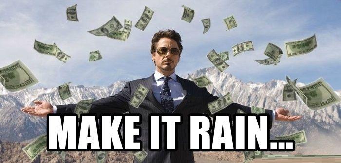 10 Make It Rain Memes That Ll Make You Look Cool Memes Kick Make It Rain Make More Money Make It Rain Money