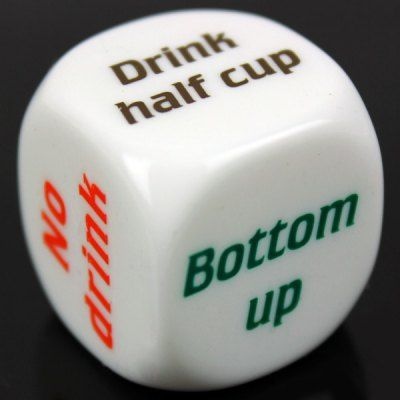 1pcs Funny Party Drink Decider Dice Games Pub Bar Fun Die Toy Gift #jewelry, #women, #men, #hats, #watches, #belts