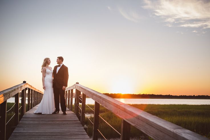 Courtney & Richard's beautiful destination wedding at the Lowndes Grove Plantation | Charleston, SC | Photo by Amelia & Dan Photography