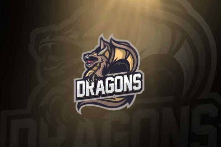 Dragon sports and esport logos #sport #animal  • Download : http://1.envato.market/c/97450/298927/4662?u=https://elements.envato.com/dragon-sports-and-esport-logos-GKQHK9