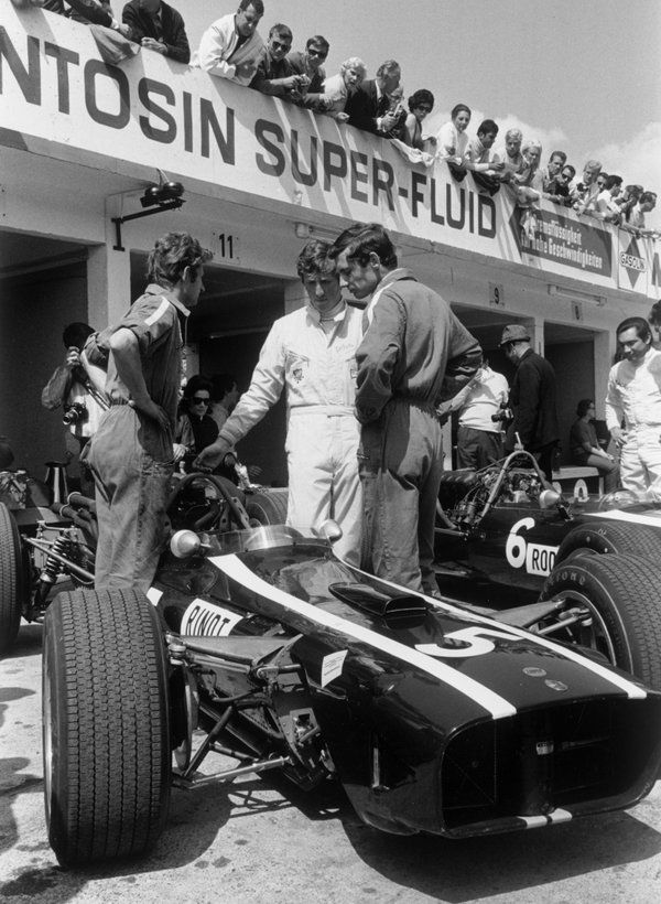 Rindt with Dennis / Brabham
