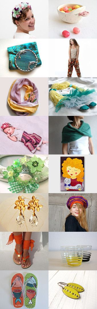 summer beauties by Fizz Acc on Etsy--Pinned with TreasuryPin.com