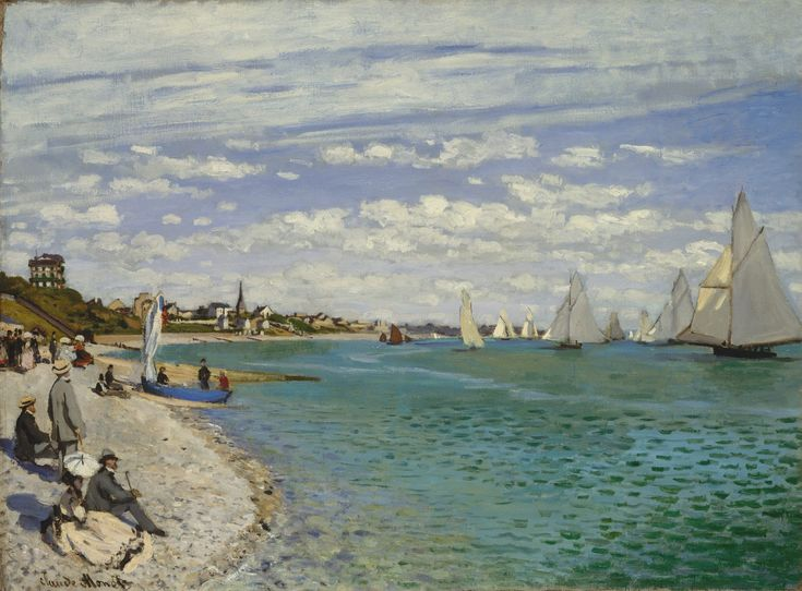 Claude+Monet+Regatta+at+Sainte-Adresse%2C+1867.jpg 1,600×1,180 pixels