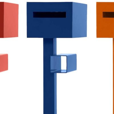 Robert Plumb - Project Letterbox. Comes in assorted colours. AUD539