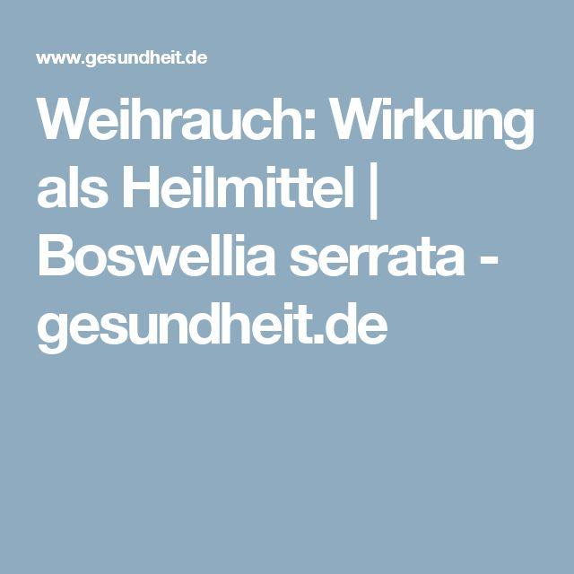 Weihrauch: Wirkung als Heilmittel | Boswellia serrata - gesundheit.de
