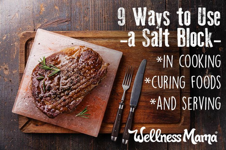 9 Ways to Use a Himalayan Salt Block in Your Kitchen