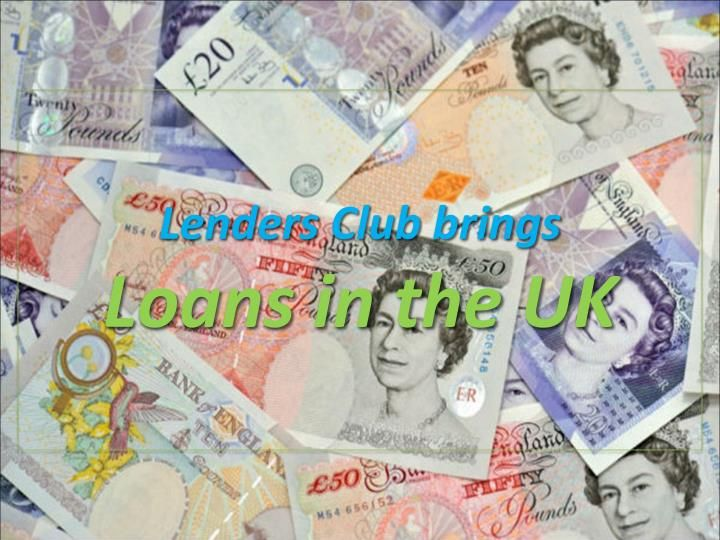 Lenders Club is providing different kinds of loans, which are customised after analysing the financial requirements of the people. One can borrow these loans on competitive APRs and flexible repayments. To know more, visit: https://goo.gl/kmNYw4