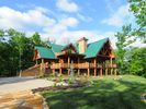 VRBO.com #359498 - Wilderness Lodge, Luxury Log Cabin, Gatlinburg W/ Amazing View