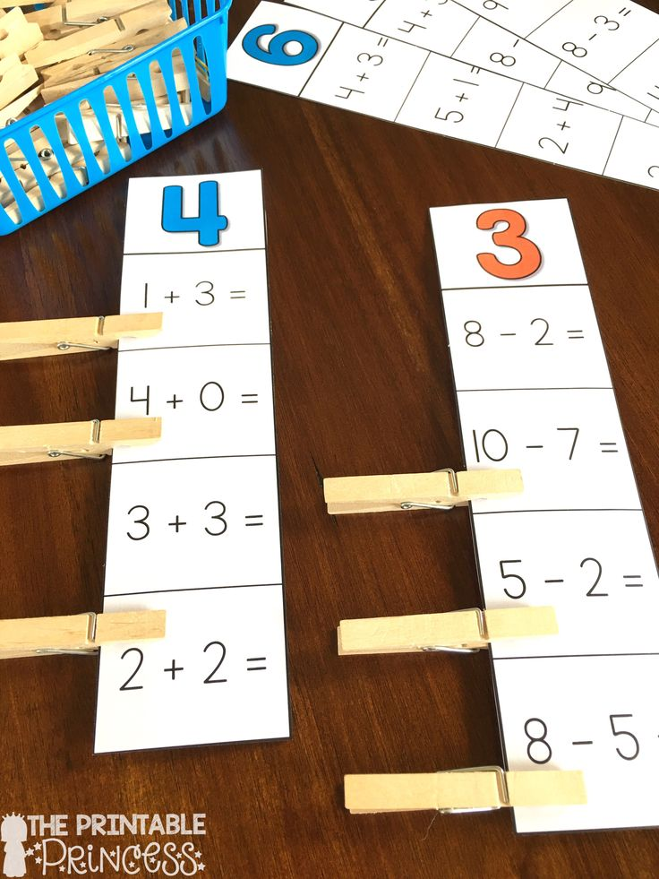 It's Hip to Clip! Addition and subtraction activities.