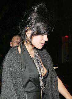 Lilly Allen nipple slip