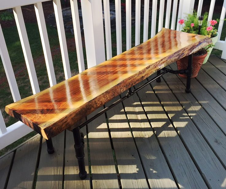 a first time waterlox user finished his walnut bench with