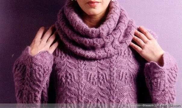 玫紫套衫 - 编织幸福 - 编织幸福的博客