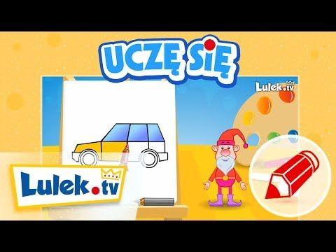Jak narysować auto? - Szkółka Rysowania dla dzieci z Lulek.tv (cz.2) - YouTube