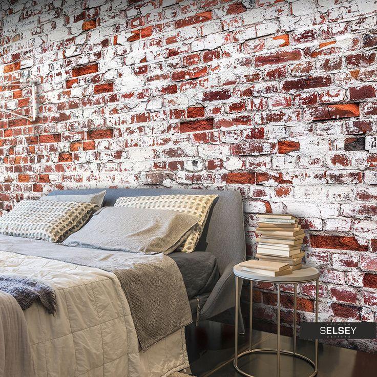 Unbehandelte Ziegelwand. 24 Besten Stein Tapete Naturstein, Beton