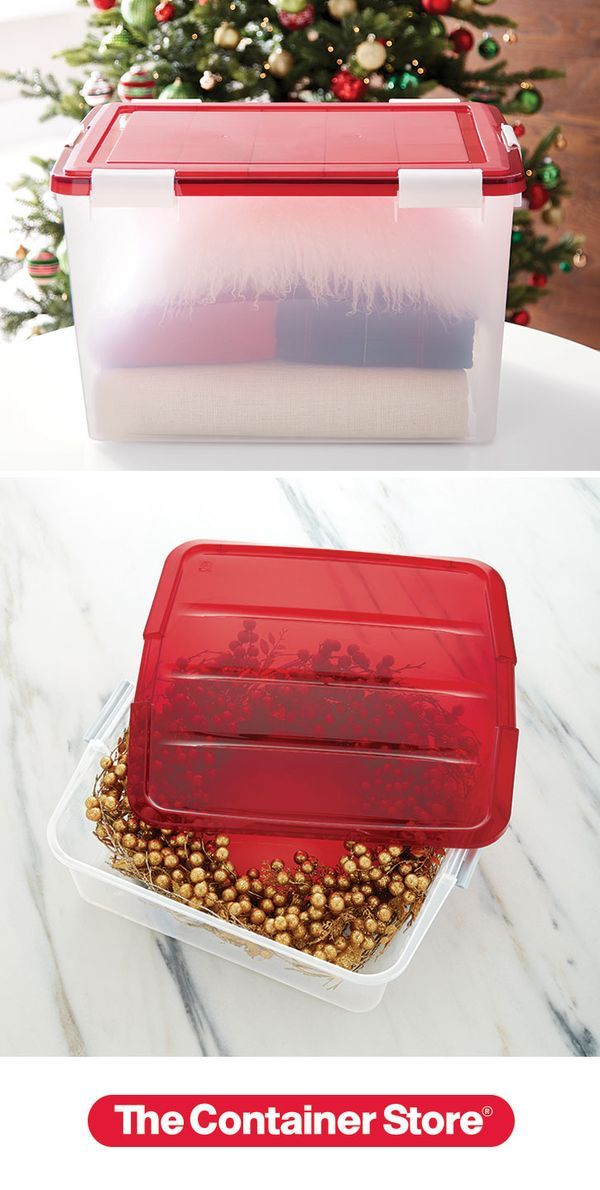 airtight storage bo our tote is ideal for protecting tree skirts and large decorations from moisture dirt wreath - Wreath Storage Box