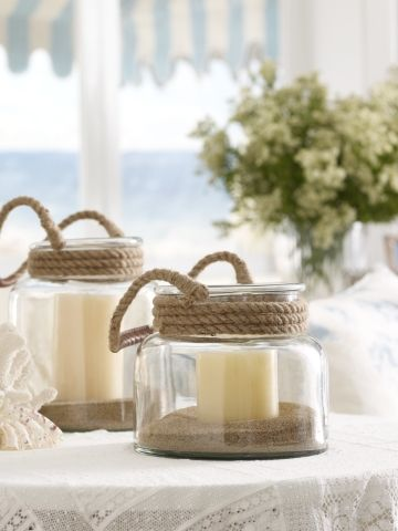 coastal chic candles
