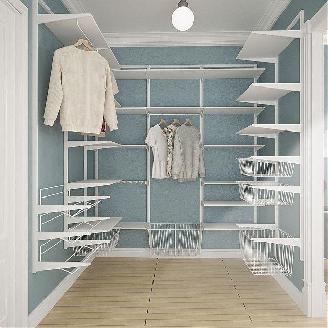 Готовый дизайн однокомнатной квартиры в скандинавском стиле