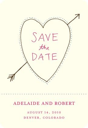 save-the-date magnet