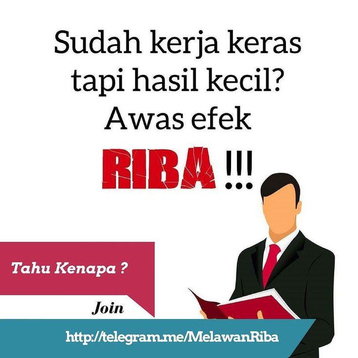 """Bismillah  Apakah Anda seorang Muslim / Muslimah yang baik ? Apakah Anda sedang terjerat Riba saat ini ? Apakah Anda sudah bekerja keras tetapi hasilnya buat cicilan Riba ? Apakah Anda ingin terbebas dari Riba tapi ragu-ragu untuk meninggalkannya ? Apakah Anda ingin tahu solusi keluar dari KPR Bank yang sarat Riba ? Apakah Anda tahu bahwa Bank Syariah sebagian belum terbebas dari Riba ? . . Jika jawaban Anda adalah """"Ya"""" minimal 3 dari pertanyaan diatas ? . . Maka Anda cocok untuk bergabung…"""