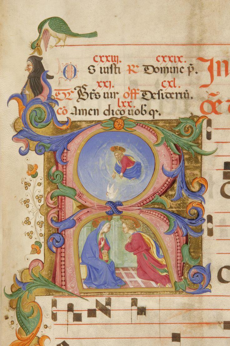 Annunciazione della Vergine autore: Zanobi Strozzi e Filippo di Matteo Torelli  tecnica: tempera e pennello