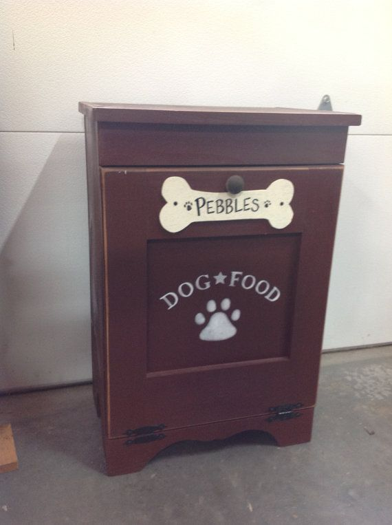dog food container love this i bet matt could make us this - Dog Food Containers