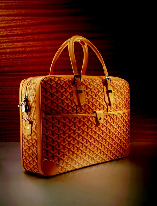 This Goyard would make a great briefcase!!!