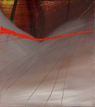 """Saatchi Art Artist Sunyoung Hwang; Painting, """"Hang out your confusion on the line"""" #art"""