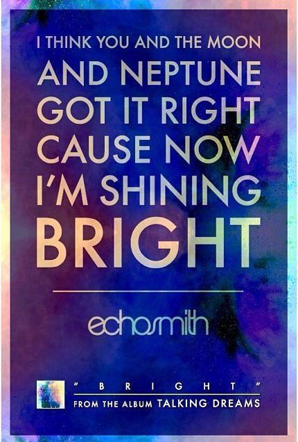 Echosmith~Bright