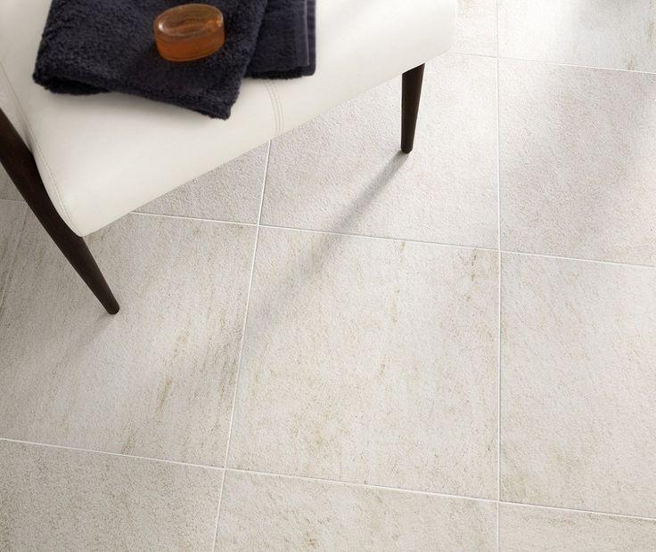 Roches White Floor | Topps Tiles