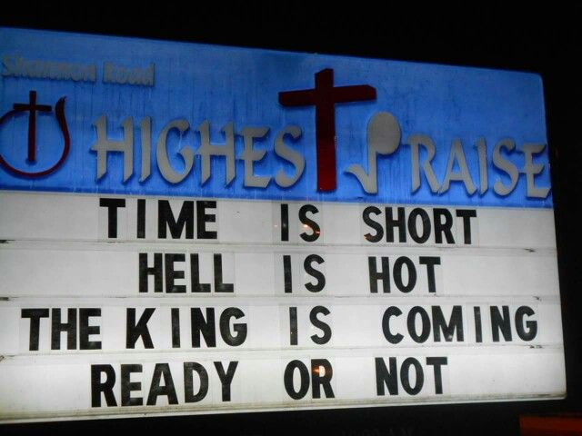 460 best Church signs images on Pinterest | Funny church signs ...