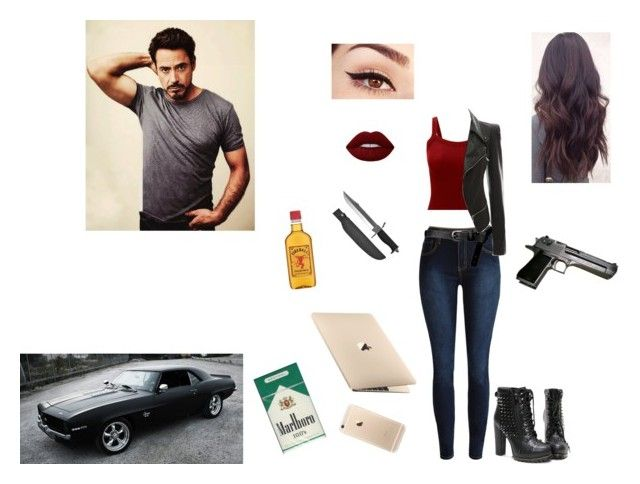 """""""Melanie Stark: Daughter of Tony Stark"""" by ruby-girl ❤ liked on Polyvore featuring ASOS, Lime Crime and Whetstone Cutlery"""
