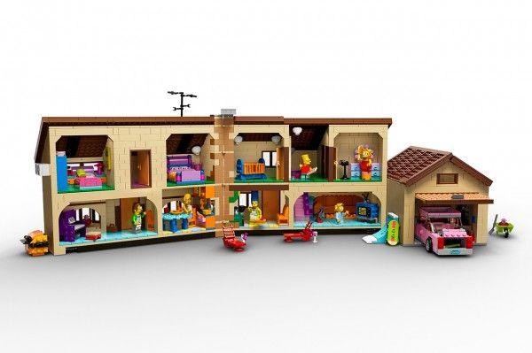 lego the simpsons sets 2 600x399 Llega la familia Simpsons en versión Lego.