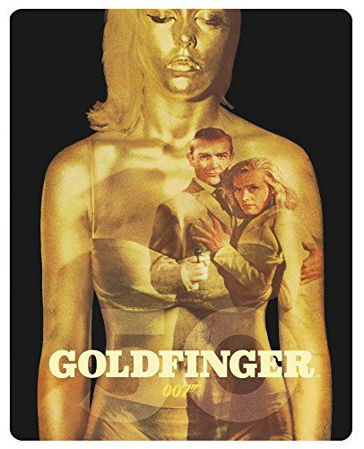 James Bond 007 - Goldfinger Steelbook [Blu-ray] [Limited Edition]