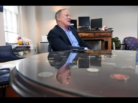 Sean Spicer, DELIVERS Finishing BLOW - Donlad Trump Didn't BEAT - Hillary Clinton BECAUSE OF HACKING - YouTube
