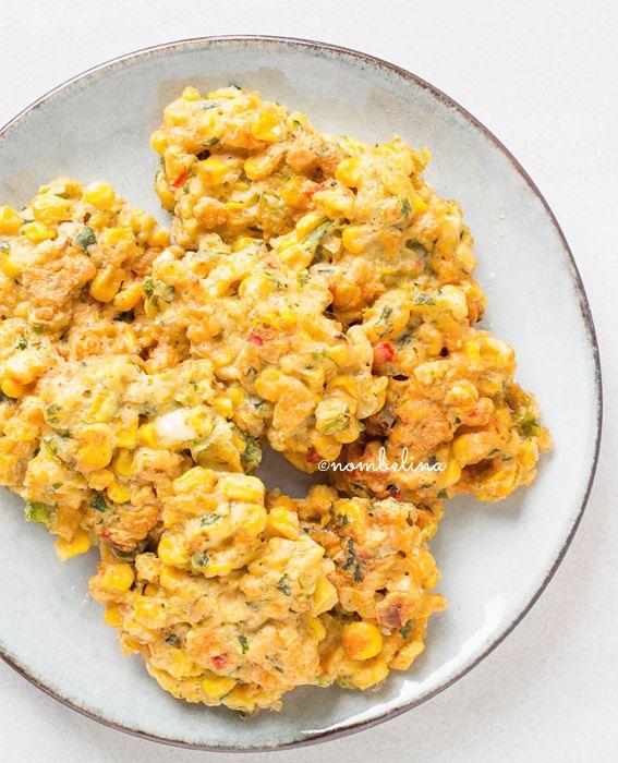 Frikadel jagung - Indische maiskoekjes - Nombelina.com