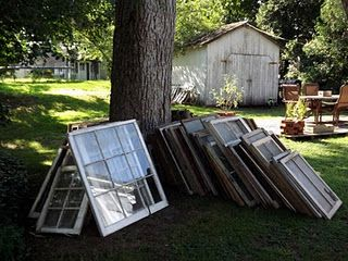 21 Ways to reuse old window frames