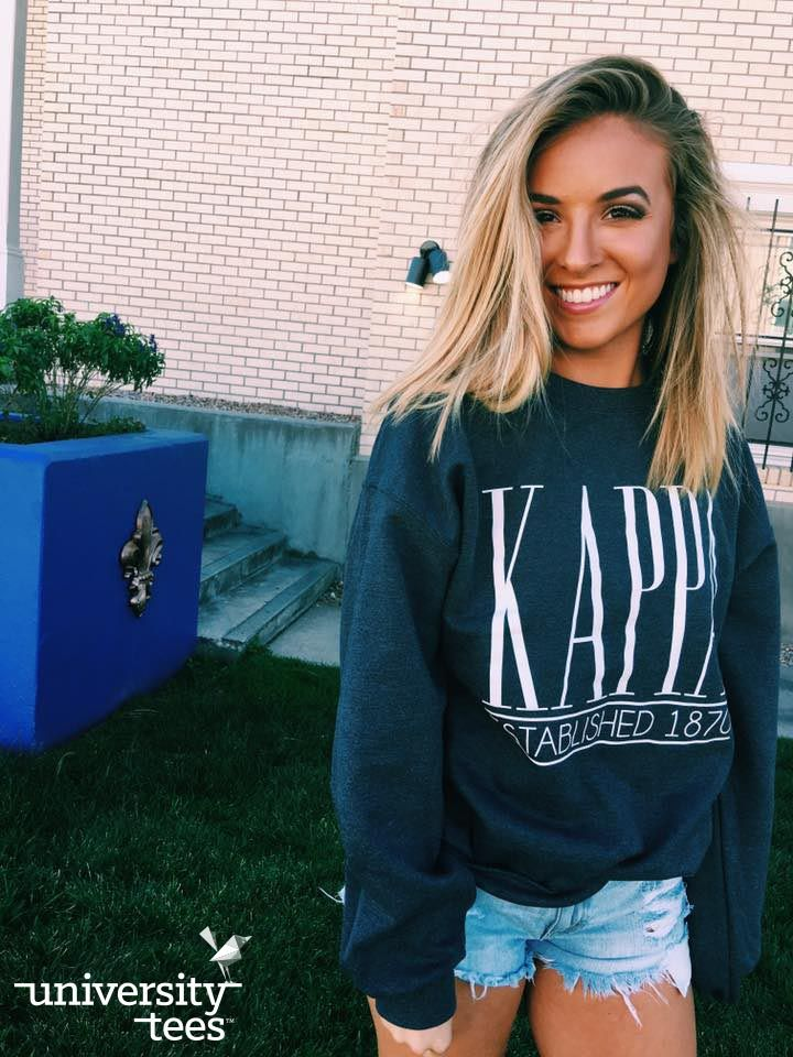 krazy about kappa | KKG | Made by University Tees | universitytees.com