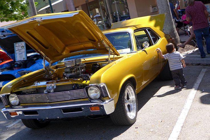 Classic Car Show Hollywood, Miami #MiamiTiamo #ClassicCar