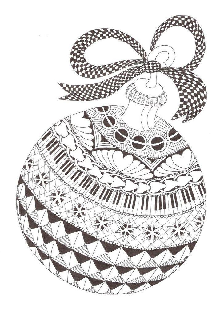 Zentangle made by Mariska den Boer 69