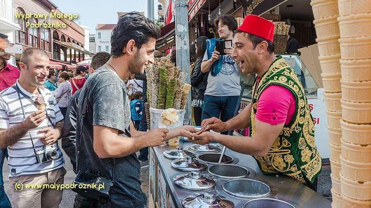 Turkey - Istanbul (Turcja, Stanbuł) #Istanbul Traditional Ice Cream - blog http://malypodroznik.pl/swiat/turcja2014/tur14_blog00.htm