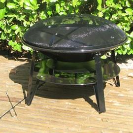 Barbecue charbon de bois Brasero 70 cm - CASTORAMA