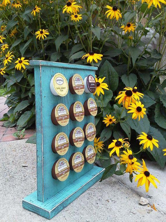 Keurig K Cup Coffee Pods Holder Primitive by EliWoodworks on Etsy