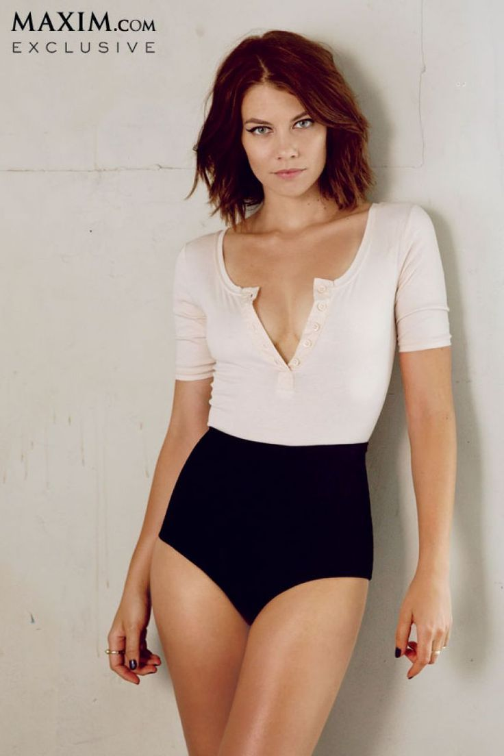 Lauren Cohan in Maxim Magazine, October 2013 Issue (if only my titties were as small as hers...)