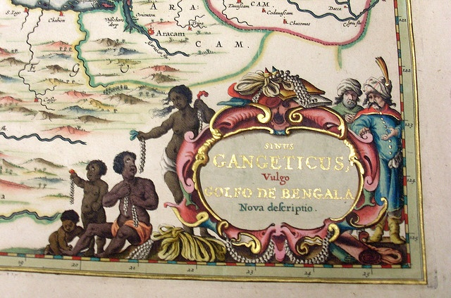 Detail from Sinus Gangeticus, vulgo Golfo de Bengala nova descriptio / [Jan Jansson]. [Amsterodam : J. Jansson, 1657?]  Find more detailed information about this map: http://library.sl.nsw.gov.au/record=b2769820 From the collection of the State Library of New South Wales http://www.sl.nsw.gov.au