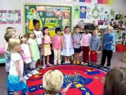 Trey's Preschool Mother's Day song