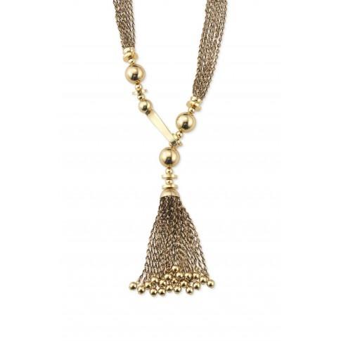 Stella & Dot Bianca Tassel Necklace - •As seen on actress Minka Kelly & Maria Menounos!    SHOP NOW: http://shop.stelladot.com/style/b2c_en_ca/shop/necklaces/all-necklaces/n277g.html#