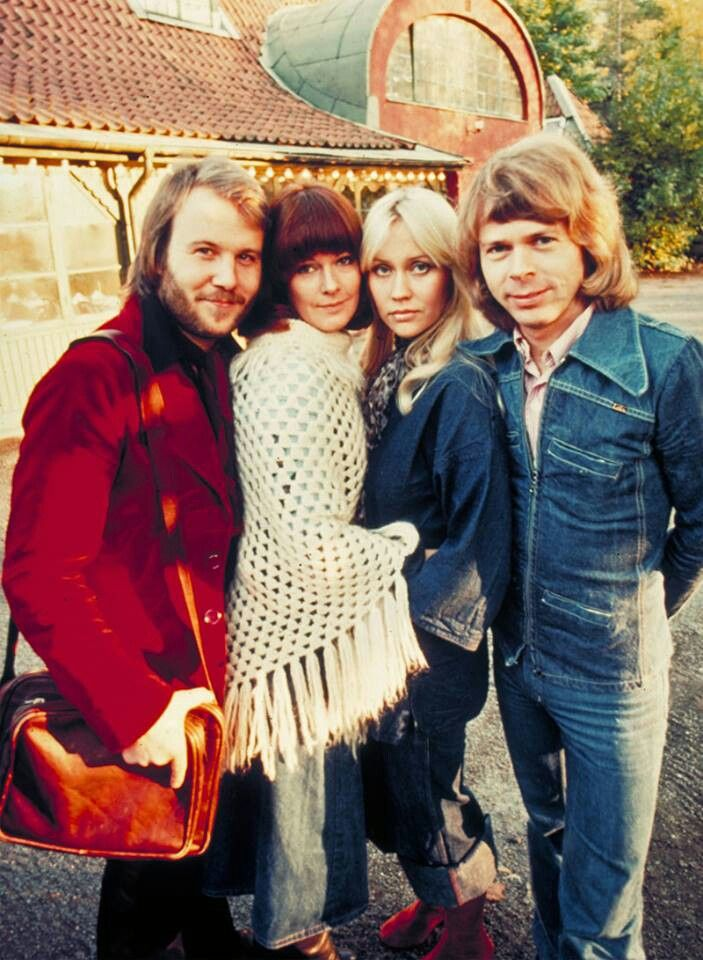 vintage abba. I used to spend my 50p pocket money on Abba fan club membership.