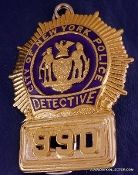 NYPD BLUE ANDY SIPOWICZ DETECTIVE SHIELD #990 ES